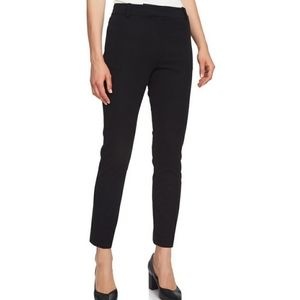 1. State Stretch Twill Ankle Trouser Pant Black 12
